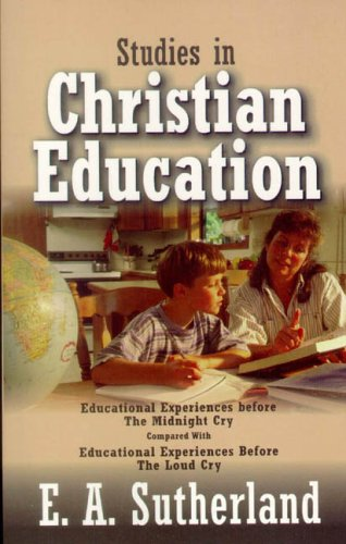Studies in Christian Education   2005 edition cover