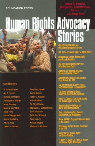 Human Rights Advocacy Stories   2009 edition cover
