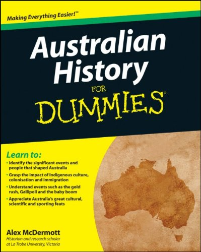 Australian History for Dummies   2011 edition cover
