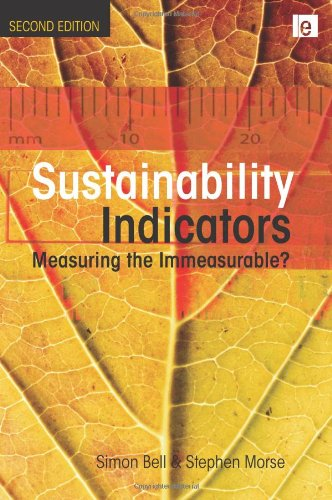 Sustainability Indicators Measuring the Immeasurable? 2nd 2008 (Revised) edition cover