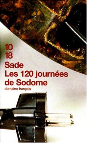 120 Journées de Sodome 1st edition cover
