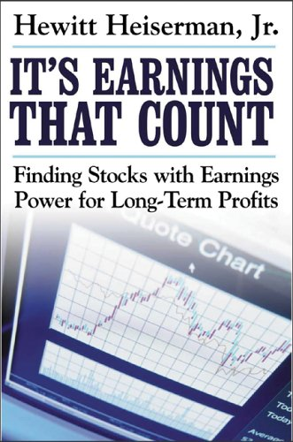 It's Earnings That Count Finding Stocks with Earnings Power for Long-Term Profits  2006 9780071463997 Front Cover