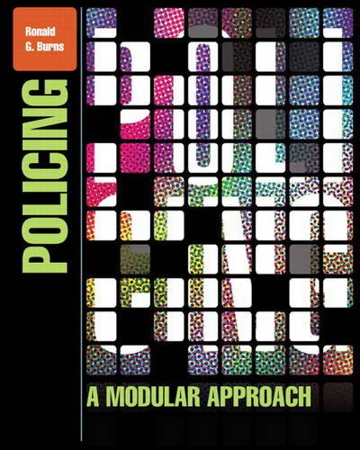 Policing A Modular Approach  2013 edition cover