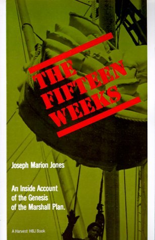Fifteen Weeks   1965 edition cover
