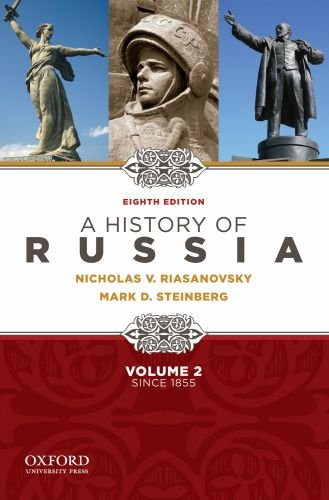 History of Russia since 1855  8th 2010 edition cover