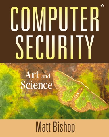 Computer Security Art and Science  2003 edition cover