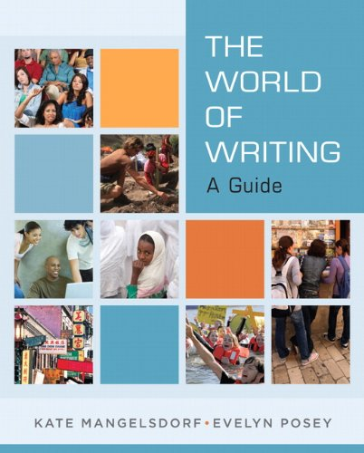 World of Writing A Guide  2011 (Revised) 9780205723997 Front Cover