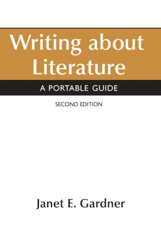 Writing about Literature A Portable Guide 2nd 2008 edition cover