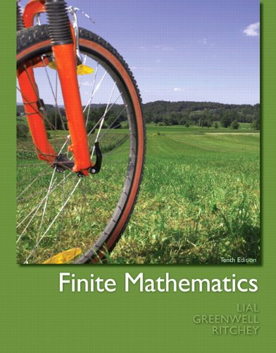 Finite Mathematics  10th 2012 (Revised) edition cover