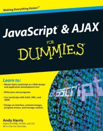JavaScript and AJAX for Dummies   2010 edition cover