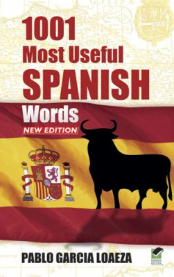 1001 Most Useful Spanish Words NEW EDITION   2013 edition cover