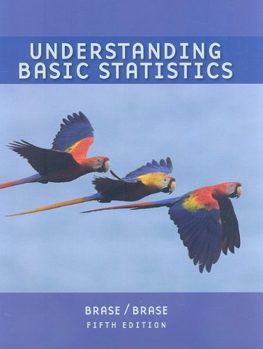Understanding Basic Statistics  5th 2010 (Brief Edition) 9780547188997 Front Cover