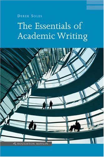 Essentials of Academic Writing   2005 9780618215997 Front Cover