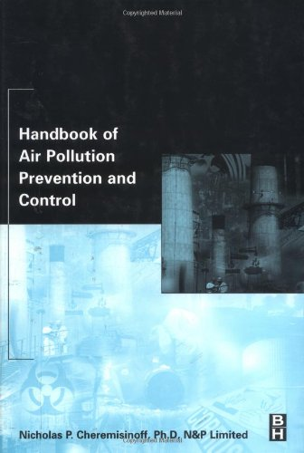 Handbook of Air Pollution Prevention and Control   2002 9780750674997 Front Cover