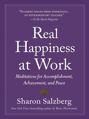 Real Happiness at Work   2015 edition cover