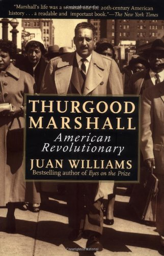 Thurgood Marshall American Revolutionary Large Type  edition cover
