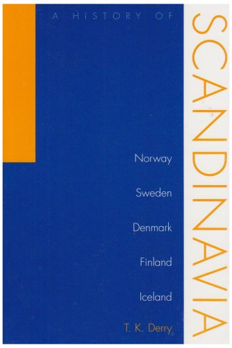 History of Scandinavia Norway, Sweden, Denmark, Finland, and Iceland  2000 edition cover