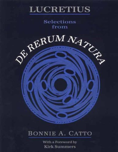 Lucretius Selections from de Rerum Natura  N/A edition cover