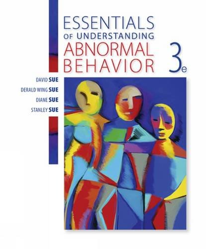 Essentials of Understanding Abnormal Behavior:   2016 9781305639997 Front Cover