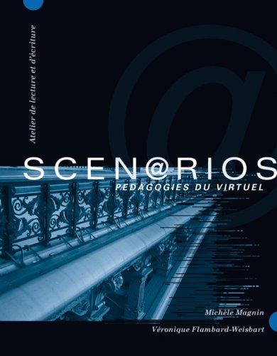 Scen@rios Pedagogies du Virtuel  2007 edition cover