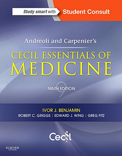 Andreoli and Carpenter's Cecil Essentials of Medicine:   2015 edition cover