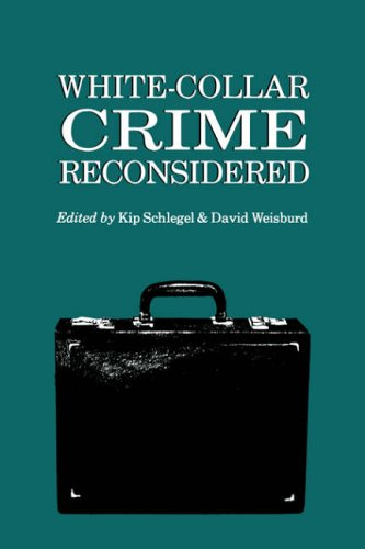 White-Collar Crime Reconsidered  Reprint  edition cover