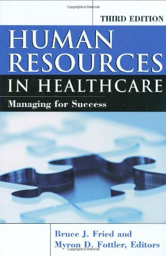 Human Resources in Healthcare Managing for Success 3rd 2008 edition cover