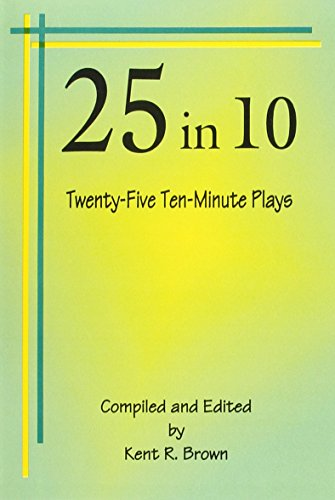 25 in 10 Twenty-Five Ten-Minute Plays  2002 edition cover