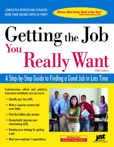 Getting the Job You Really Want, Fifth Edition 5th 2007 edition cover