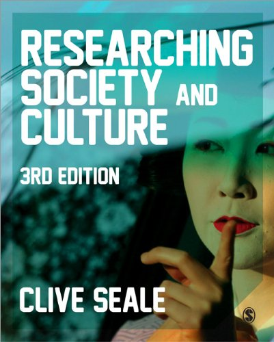 Researching Society and Culture  3rd 2012 edition cover
