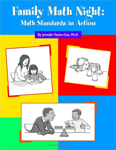 Family Math Night Math Standards in Action  2005 edition cover
