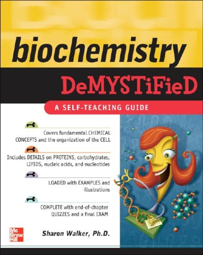 Biochemistry Demystified   2009 edition cover