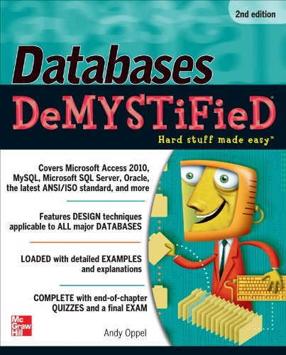 Databases DeMYSTiFieD, 2nd Edition  2nd 2011 9780071747998 Front Cover