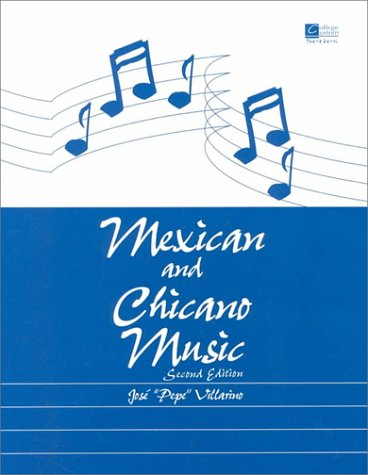 Mexican and Chicano Music  2nd 2000 (Revised) edition cover