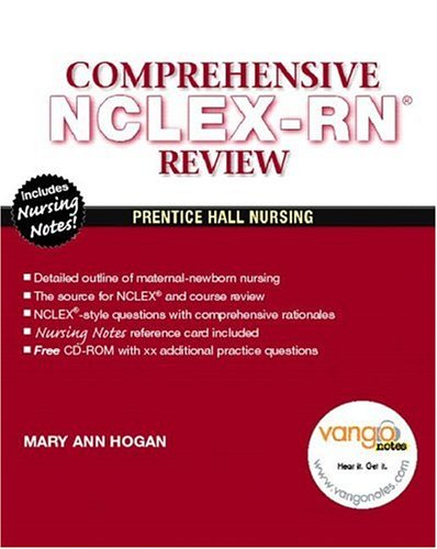 Comprehensive Review for NCLEX-RN Reviews and Rationales  2008 edition cover