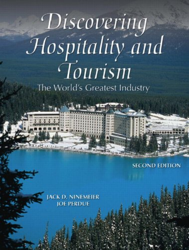 Discovering Hospitality and Tourism The World's Greatest Industry 2nd 2008 edition cover