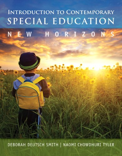 Introduction to Contemporary Special Education New Horizons  2014 edition cover