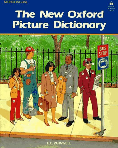 New Oxford Picture Dictionary   1988 edition cover