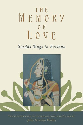 Memory of Love Surdas Sings to Krishna  2009 edition cover