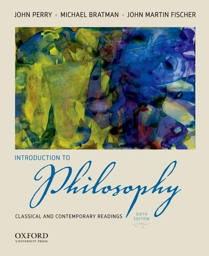 Introduction to Philosophy Classical and Contemporary Readings 6th 2012 edition cover