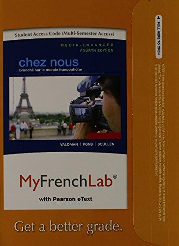Chez Nous Branch� Sur le Monde Francophone 4th 2014 edition cover