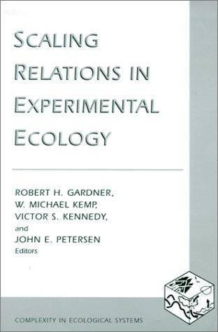 Scaling Relations in Experimental Ecology   2001 9780231114998 Front Cover