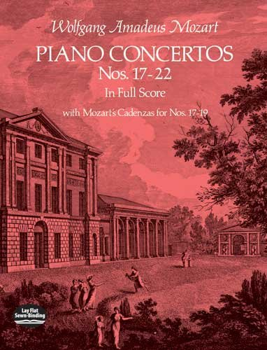 Piano Concertos Nos. 17-22 in Full Score  N/A edition cover