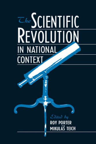 Scientific Revolution in National Context   1992 9780521396998 Front Cover