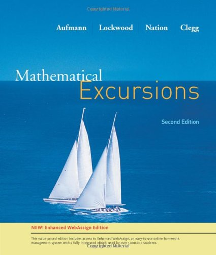 Mathematical Excursion, Enhanced Edition  2nd 2010 9780538734998 Front Cover