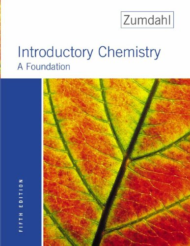 Introductory Chemistry A Foundation 5th 2004 edition cover