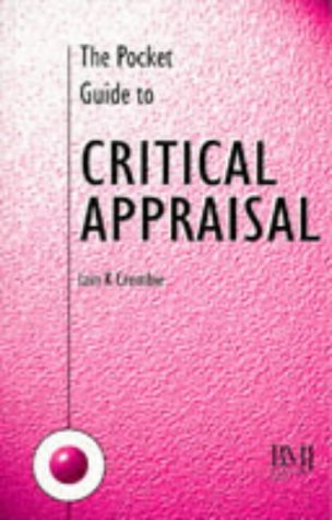 Pocket Guide to Critical Appraisal   1996 edition cover