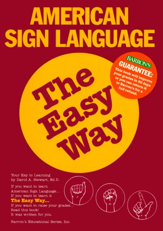 American Sign Language the Easy Way   1998 edition cover