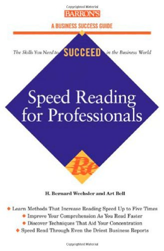 Speed-Reading for Professionals   2006 edition cover