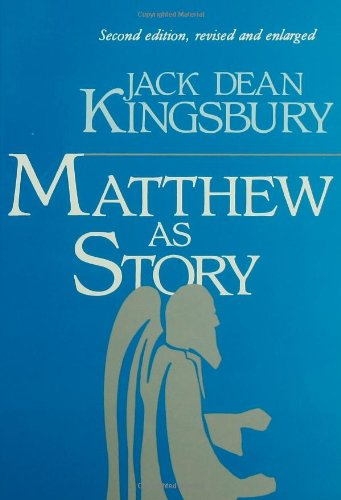 Matthew As Story  2nd edition cover
